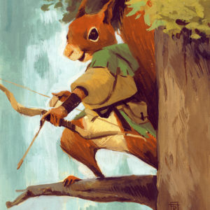 Squirrel Archer
